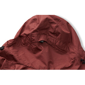 Klättermusen W's Einride Jacket Burnt Lava